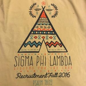 Comfort Colors Sorority Shirt: Sigma Phi Lambda